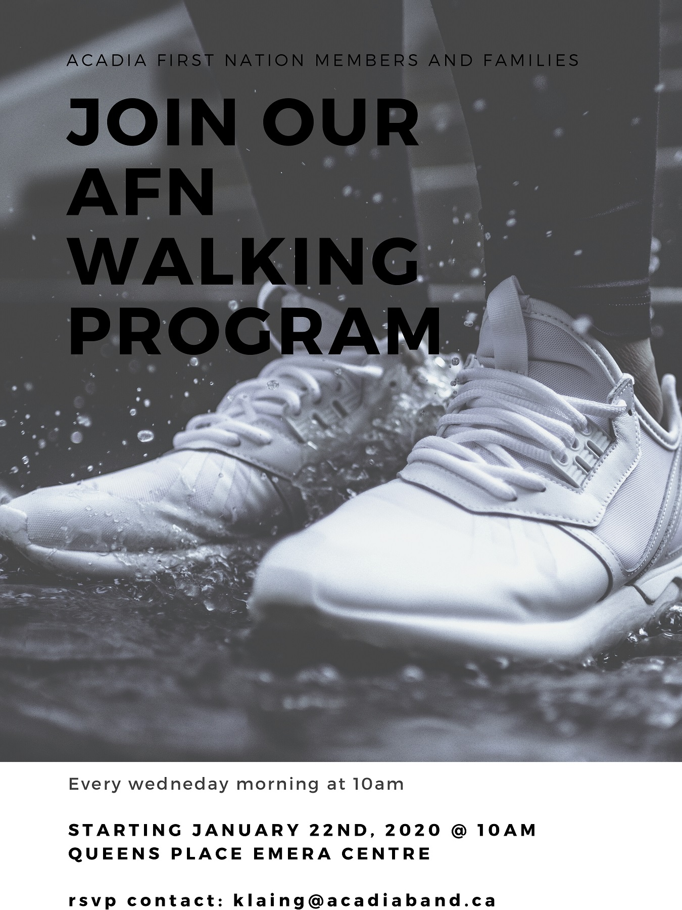 Join our AFN Walking Program page 0001