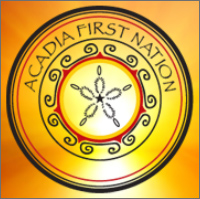 Acadia First Nation election 2020 logo